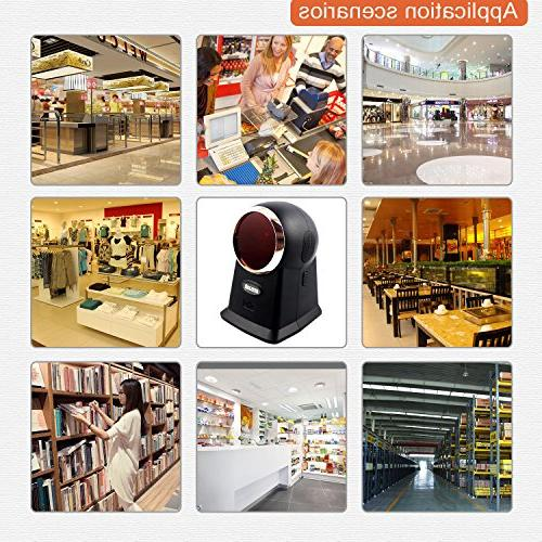 Barcode High Speed Bar Code Reader Supermarket and