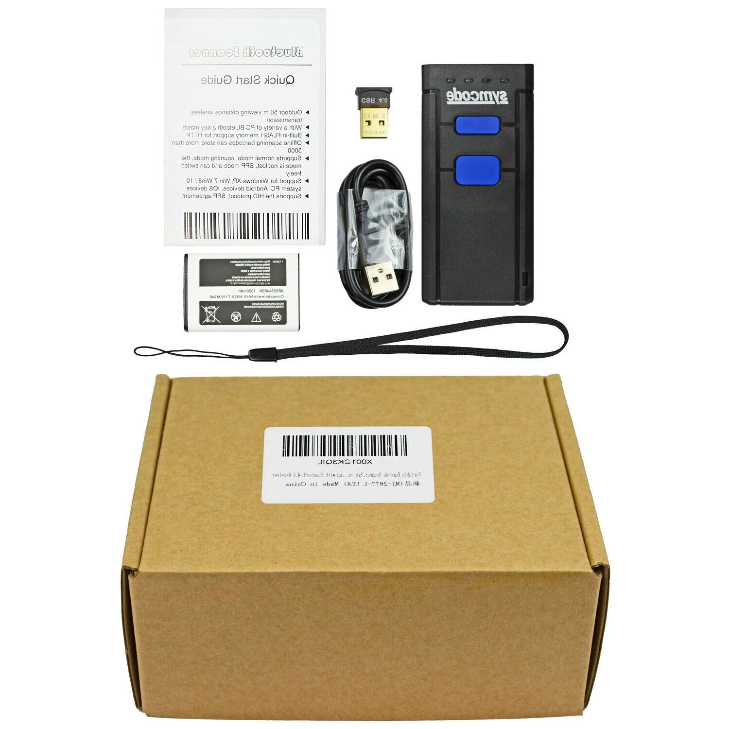 BARCODE USB Portable Laser Reader -