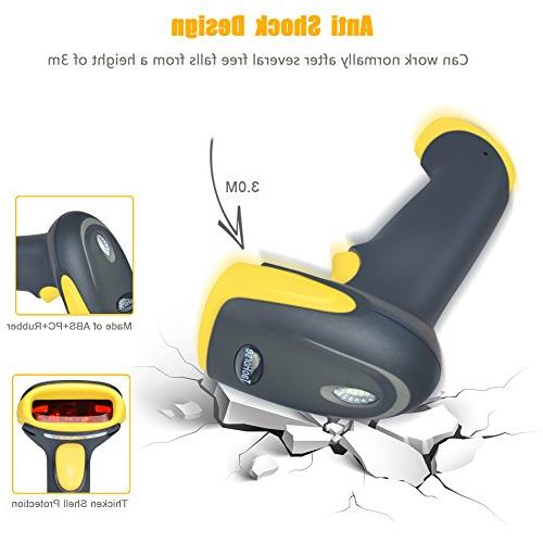 TaoHorse 2-in-1 Barcode Scanner & Wired Automatic Memory iPad Smartphone