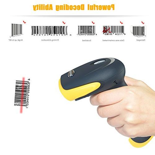 TaoHorse 2-in-1 Barcode Wired Handheld Bar Code Automatic and Memory iPad Android Smartphone