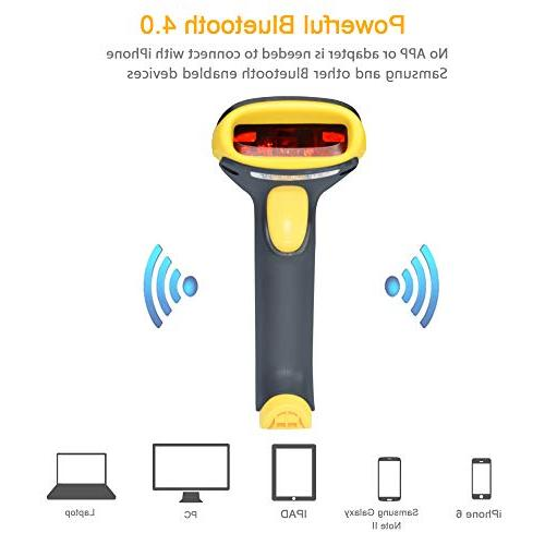 TaoHorse Barcode Wired Handheld Laser Bar Code Reader Automatic Memory for iPhone Android Smartphone