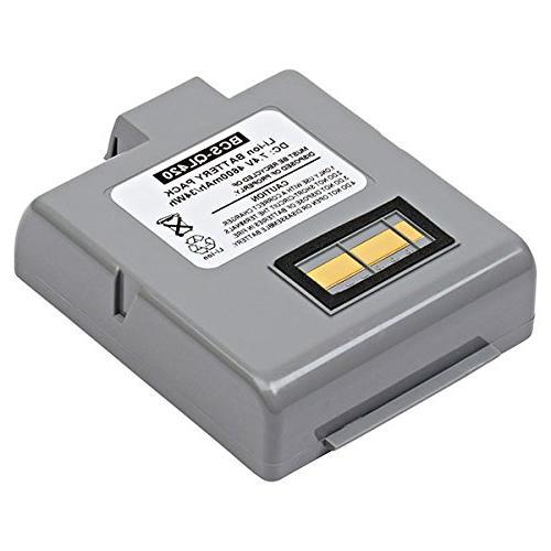 barcode scanner lithium