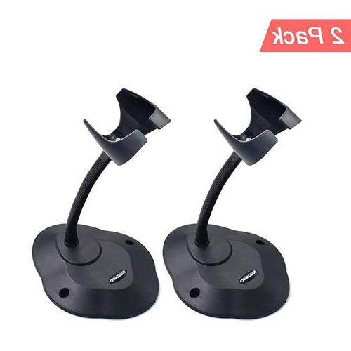 barcode scanner stand hands