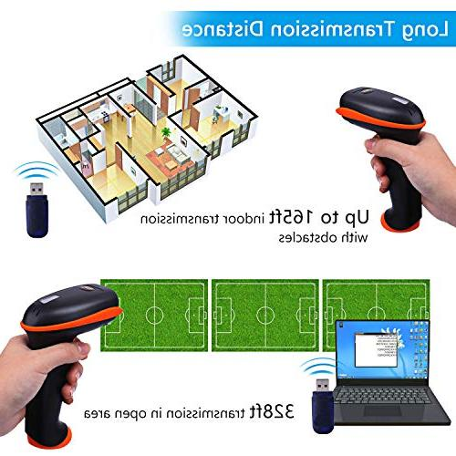 Tera Versatile 1D Barcode Handheld Bar Code with