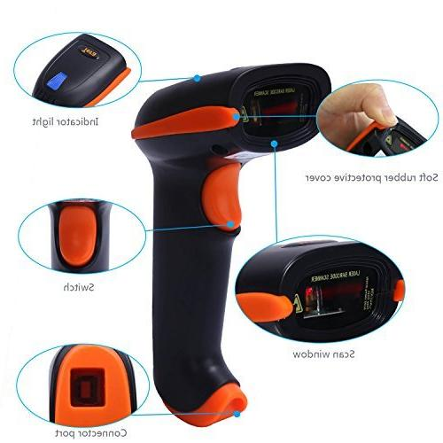 Tera USB Handheld Bar Code Scanner with Stand