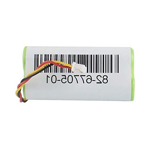 2-Pack for DS6878 Barcode Scanner 3.6V Ni-Mh PN BTRY-LS42RAAOE-01