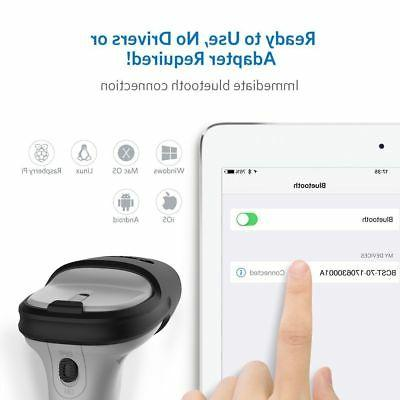 Inateck Bluetooth Wireless Scanner, and