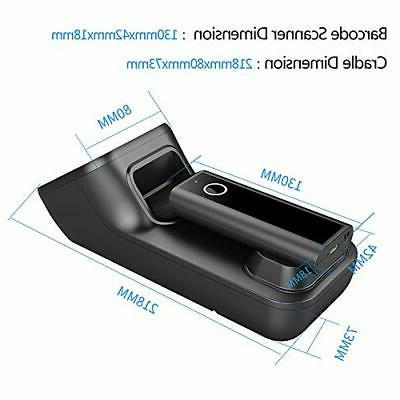 Symcode Wireless Barcode Scanner Automatic window, 2D