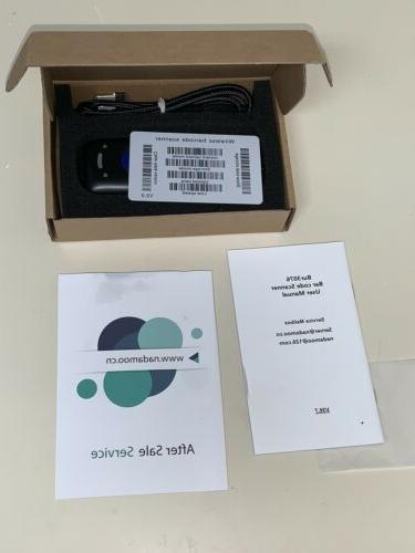 Nadamoo Bur3076 3-in-1 Mini Wireless Barcode Scanner