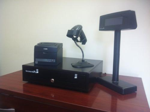 Cash Receitp Ticket Printer Cit-s310ii Scanner Laser USB Pole Display , 4 This Is a NEW /32 64
