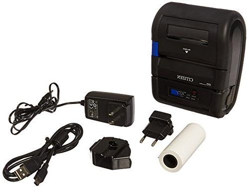 Citizen CMP-30 Thermal Printer - Monochrome Portable - Print - Width - - Bluetooth - USB - Serial 3.15 Width