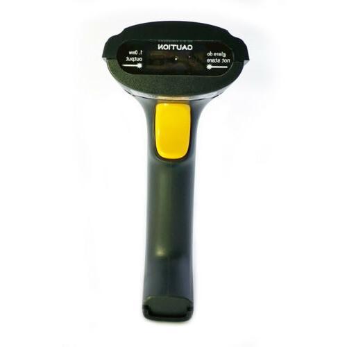 Cordless Laser Barcode Scanner Bar Code Wireless POS Handhel