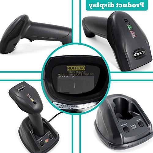 1D Wireless Barcode Reader Wireless Distance Meters