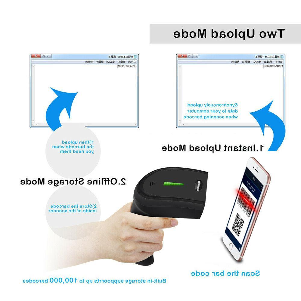 Symcode USB Scanner 2D Laser Reader