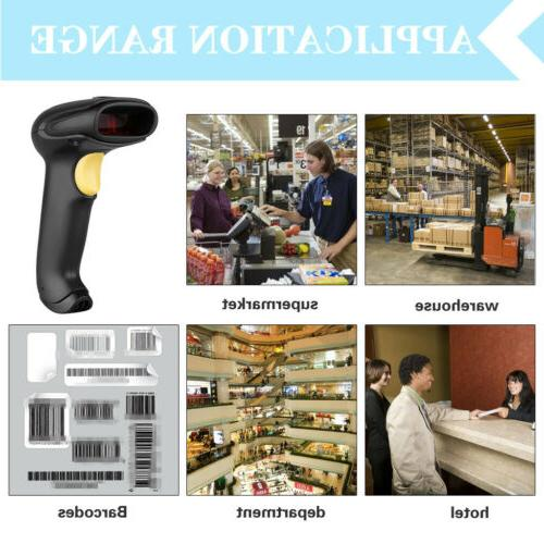 Handheld Bluetooth Laser Barcode Bar Reader