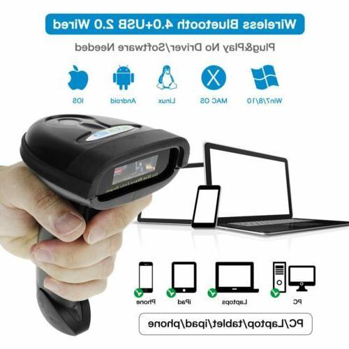 Handheld Scanner Reader QR Code POS System