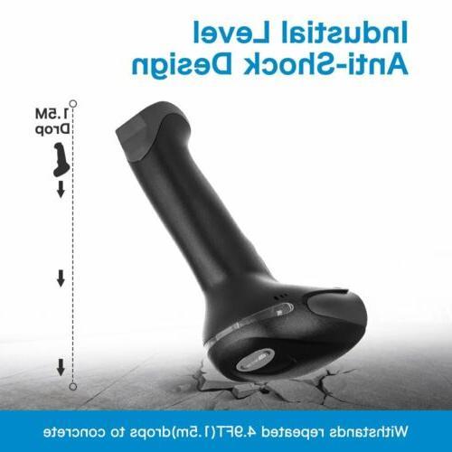Handheld Scanner Reader Laser 1D QR for POS System