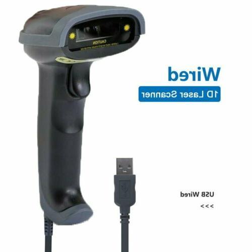 handheld usb wired barcode scanner reader laser