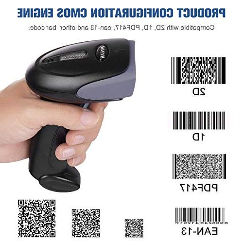 NYEAR 2D Bar Code Reader with USB 1D