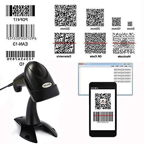 handheld wired usb barcode scanner