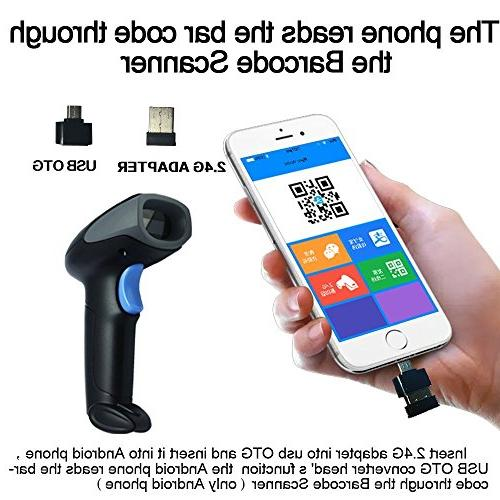 NYEAR Handheld Wired USB Handheld Laser Code Automatic Continuous Windows Cable with APP Support