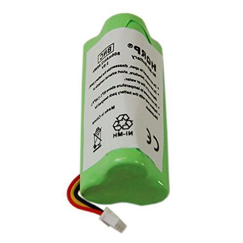 HQRP Battery for Motorola LS4278-M 82-67705-01 BTRY-LS42RAAOE-01 Cordless + HQRP Coaster