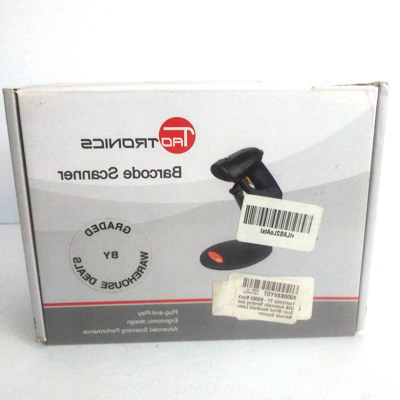 TaoTronics Laser Barcode Scanner Wired Trigger USB
