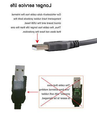 USB Cable for Motorola Barcode Scanner LS3578 LS9208 DS9208