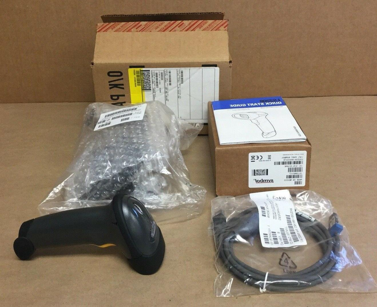 ls2208 general purpose barcode scanner with cable