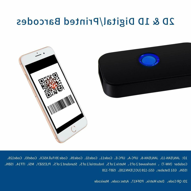 Mini Scanner Portable Image PDF417 Barcode