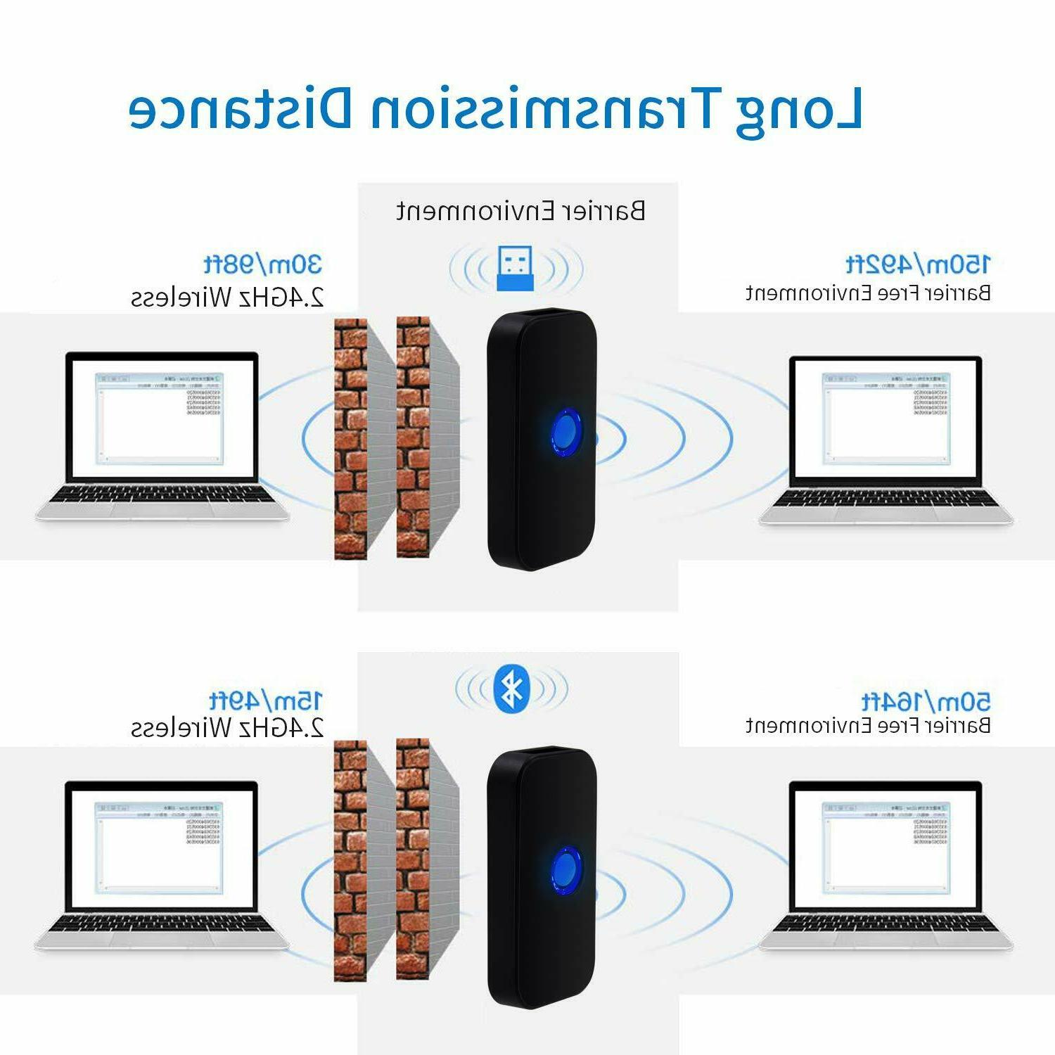 Mini Bluetooth 2D Scanner Portable Image