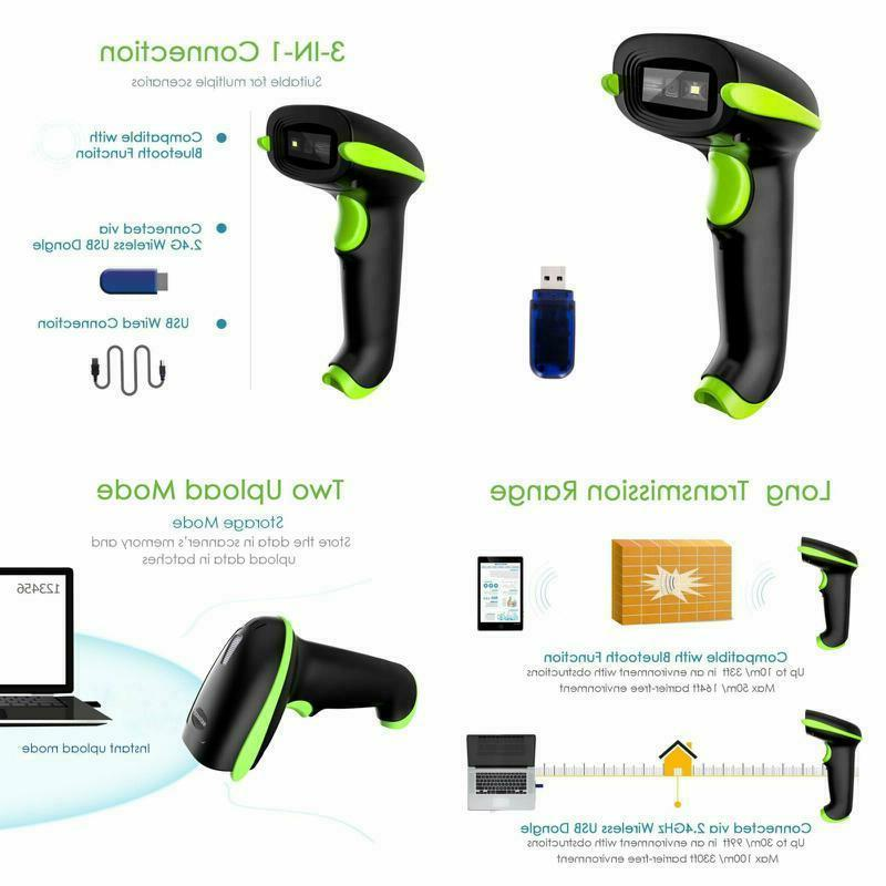 nadamoo wireless 2d barcode scanner 3 in