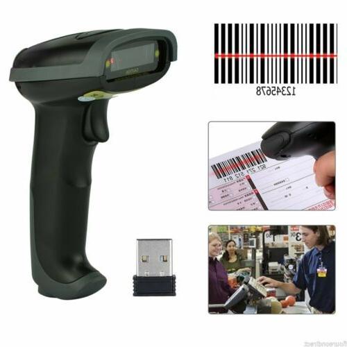 New Wireless Laser USB Scanner Gun Label Reader
