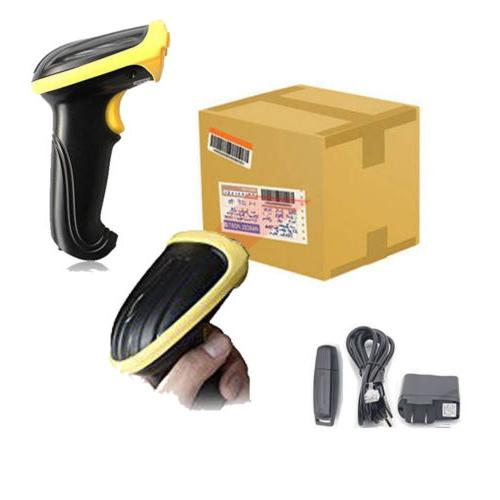 New Wireless USB Barcode Scanner Scan Label Reader
