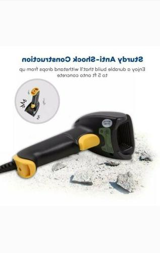 new barcode scanner t22 td usb wired