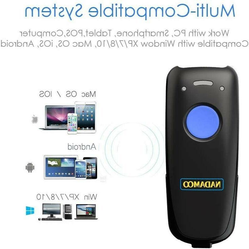 NEW! NADAMOO Mini Barcode Compatible Bluetooth