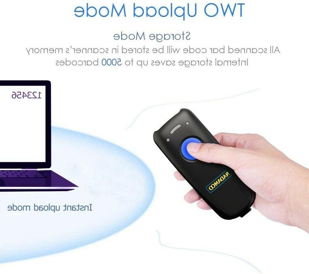 NEW! Barcode Scanner, Compatible with Bluetooth Function.