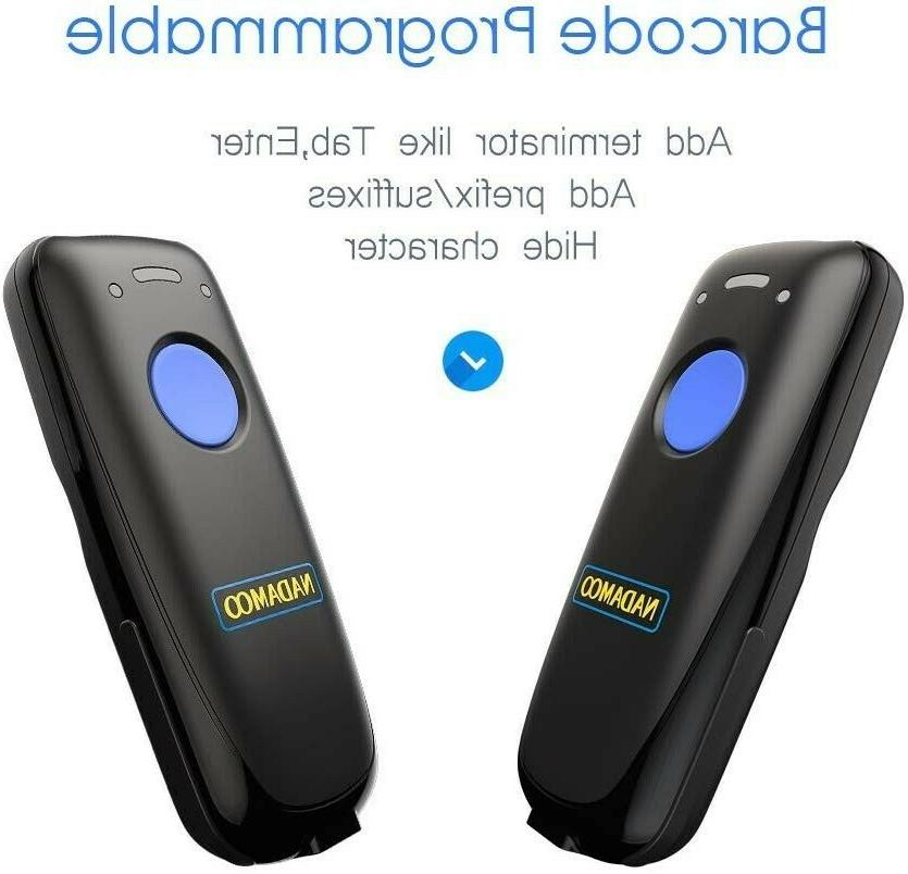 NEW! Barcode Bluetooth Function.