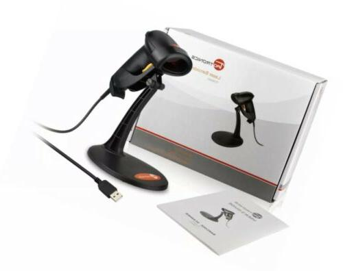new usb barcode scanner with stand