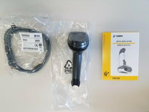 New Symbol Zebra DS4308-DL00007ZZWW 1D 2D cable.