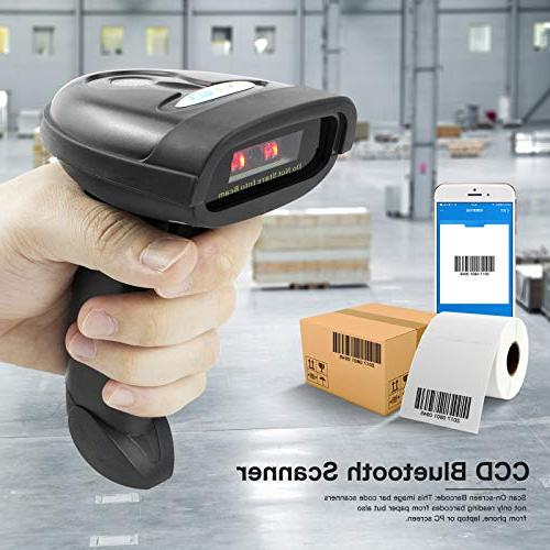 NETUM Barcode Scanner Wireless Barcode Handheld Code Imager Payment Computer Screen for Android iMac
