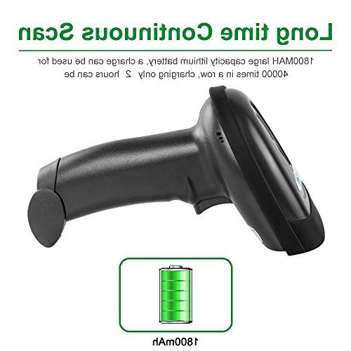 NETUM CCD Barcode Scanner Wireless Handheld USB Code Imager Mobile Payment Computer for iMac Ipad