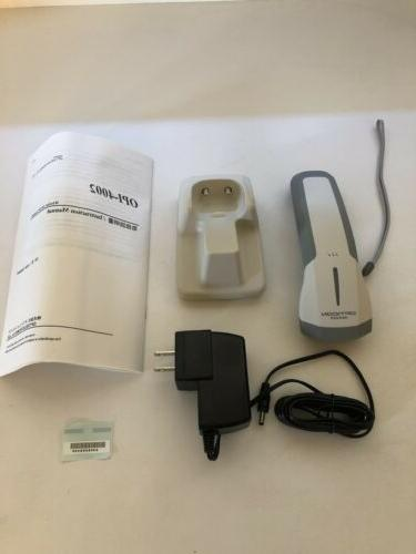 opi 4002 handheld barcode scanner wireless white