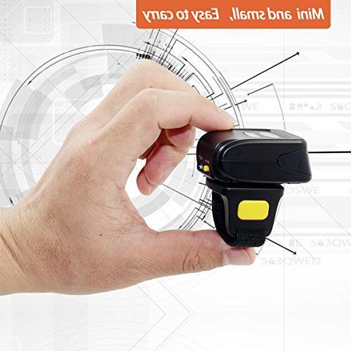 2D Scanner,Symcode Mini Wireless Reader Scanner
