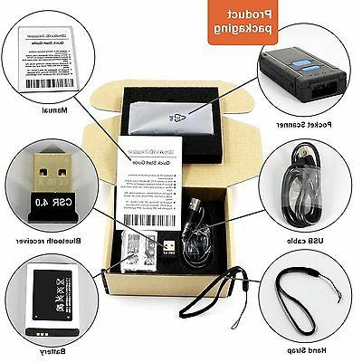 USB 1D Handheld Laser For POS/Android/IOS/Imac/Ipad 4.0 Receiver