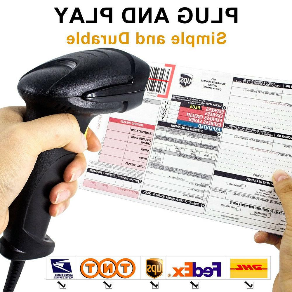 Portable Handheld USB Laser Barcode Code POS XP