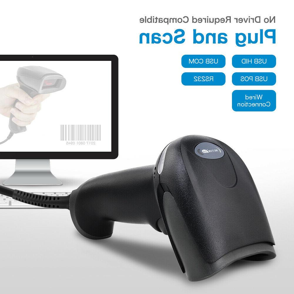 Portable Handheld USB Port Laser Barcode Bar Code Reader Data