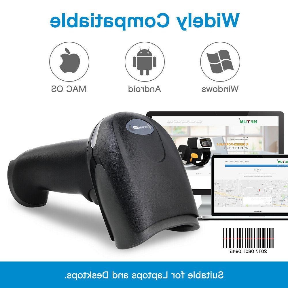 Portable USB Laser Barcode Bar Code For Data