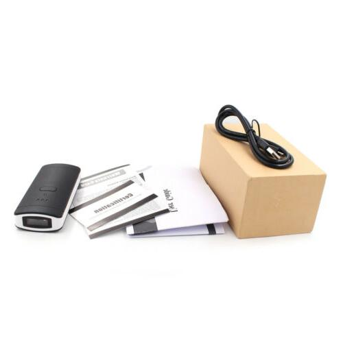 Portable Wireless Bluetooth Barcode Laser Reader for Apple iOS