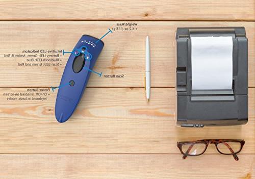 SocketScan Scanner, Blue